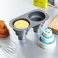 Amazon.com: 2 Cavity Three Tier Cake Pan: Kitchen &amp; Dining