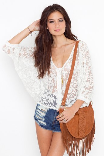 Juliet Lace Blouse