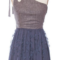 Trendy and Cute dresses - MM Couture - Blueberry Bow Dress