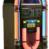 Classic Neon CD Jukebox