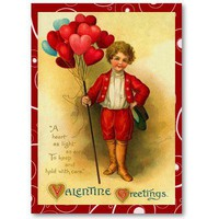 Vintage Valentine Love Notes