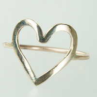 Infinity Symbol Ring BUY 2 get ONE Bronze Heart ring by Excognito