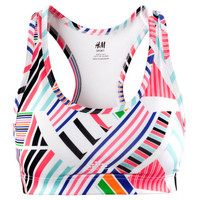 Ladies | Sportswear | Sports bras | H&amp;M US