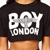 BOY London Cropped T-Shirt