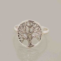 Circled Branch Tree of  Life