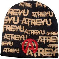 ROCKWORLDEAST - Atreyu, Beanie Hat, Printed & Embroidered Logos