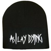 ROCKWORLDEAST - As I Lay Dying, Beanie Hat, Logo
