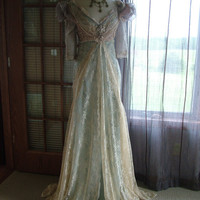 "Inspired Cinderella ""Ever After Breathe"" Wedding Gown by RetroVintageWeddings on Etsy"