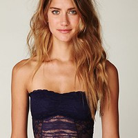 Free People Cropped Lace Tube
