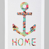 Bianca Green You Make Me Home Art Print at URBAN OUTFITTERS
