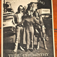 Better Living Through Chemistry Original 1967 Vintage Postcard