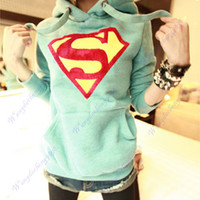 Womens Cute Superman Log...