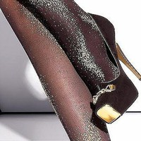 Black Tights with Sparkly Shimmer