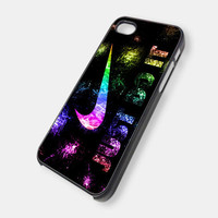 Just Do it Nike Logo iPhone 5 Case iPhone 4 /4S Case by sipgan