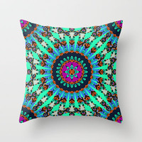 Mix #219 - 2 Throw Pillow by Ornaart | Society6