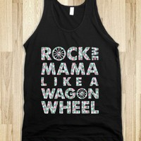 Wagon Wheel Tank Top Disco Edition