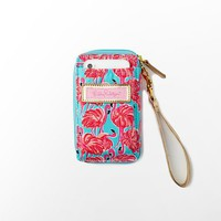 Lilly Pulitzer - Carded ID Wristlet Canvas
