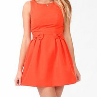 Pleated Double Bow Sheath Dress | FOREVER 21 - 2025101588