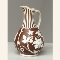 Antique Parian Ware Pitcher