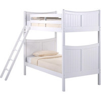 Cottage Bunk Bed | Basics White Collection | Birch Hardwood | FOW