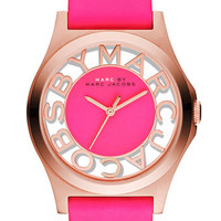 MARC BY MARC JACOBS &#x27;Henry&#x27; Skeleton Dial Watch | Nordstrom