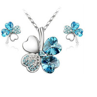 Fashion Necklace Jewelry Set Ocean - Earrings & Neclace