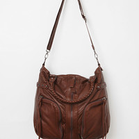 Urban Outfitters - Deena &amp; Ozzy Zip-Stitch Moto Satchel