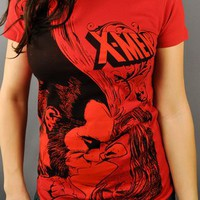X Men Wolverine Kiss Baby Tee