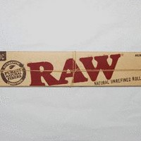 12 Inch Raw Extra Long Natural Unbleached Rolling Papers