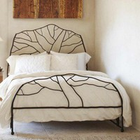 Tree of Life Iron Bed - VivaTerra