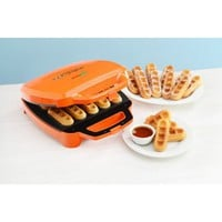 Babycakes: Waffle Stick Maker - Orange