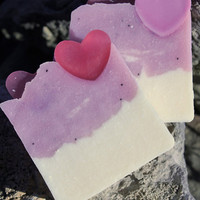 Sweet Heart Valentine's Day Soap by SimplySelah on Etsy