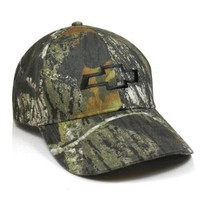 Chevrolet 3d Logo Mossy Oak Baseball Cap : Amazon.com : Automotive
