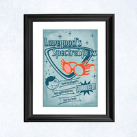 Harry Potter print - Spectrespecs