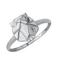Boma Sterling Silver Origami Owl Ring