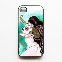 iPhone 4 Case  Dia De Los Muertos Artwork by MayhemHere on Etsy