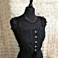 Corset cover Edwardian victorian steampunk by SomniaRomantica