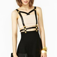 Harness Stud Dress