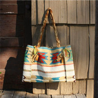 Dry Hills Indian Inspired Tote, Rugged Women's Country Clothing