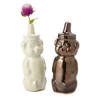 HONEY BEAR VASE | Honey Bear, Vase, Cute, Unique, Funky, Leslie Anton, , Gifts for Women, Gifts for Teens, Mother's Day Gifts | UncommonGoods