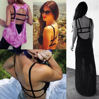 Black Cut Out Bralette by dvcollection on Etsy