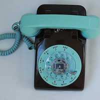 Vintage Custom Rotary Dial Phone Classic Rotary by TheNewtonLabel