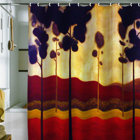 Conor O&#x27;Donnell Tree Study 12 Shower Curtain