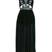 Petites Embellished Maxi Dress - View All  - Dress Shop