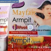 10 Pack X 1 Week Mayfair Armpit Whitening Cream 30 Ml