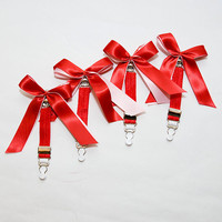 My Sweet Valentine Set of FOUR Pinup MetalClip Nylon by mmegigi