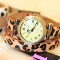 Grace Leopard Band Strap Cool Wrist.. on Luulla