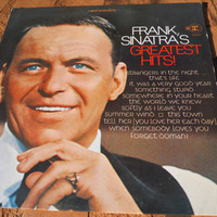 SALE Frank Sinatra's Greatest Hits Original 12 inch on Vinyl