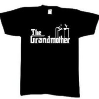 The GRANDMOTHER - Custom T-shirt - Grandma - Great Gift | eBay