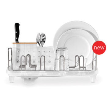 simplehuman - Stainless Steel Dish Drying Rack - 5yr Warranty